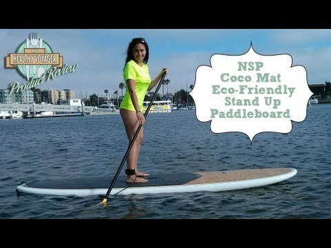 NSP Coco Mat Stand Up Eco-Friendly Paddleboard Product Review