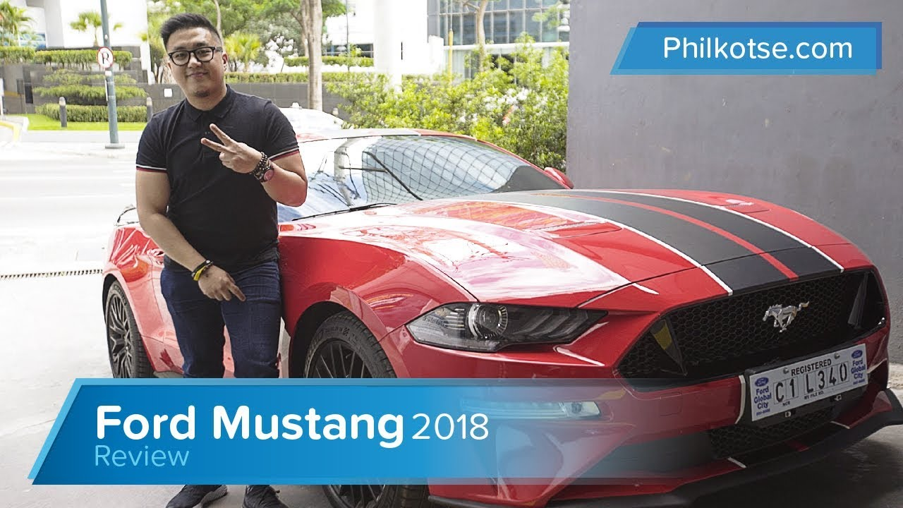 2019 Ford Mustang Gt Review Philippines Is It Still A Proper Muscle Car Philkotse Youtube