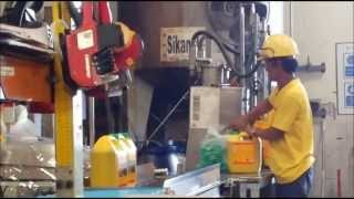 coding & marking onto plastic gallon for SIKA Chemicals for construction and concrete Industry Thumbnail