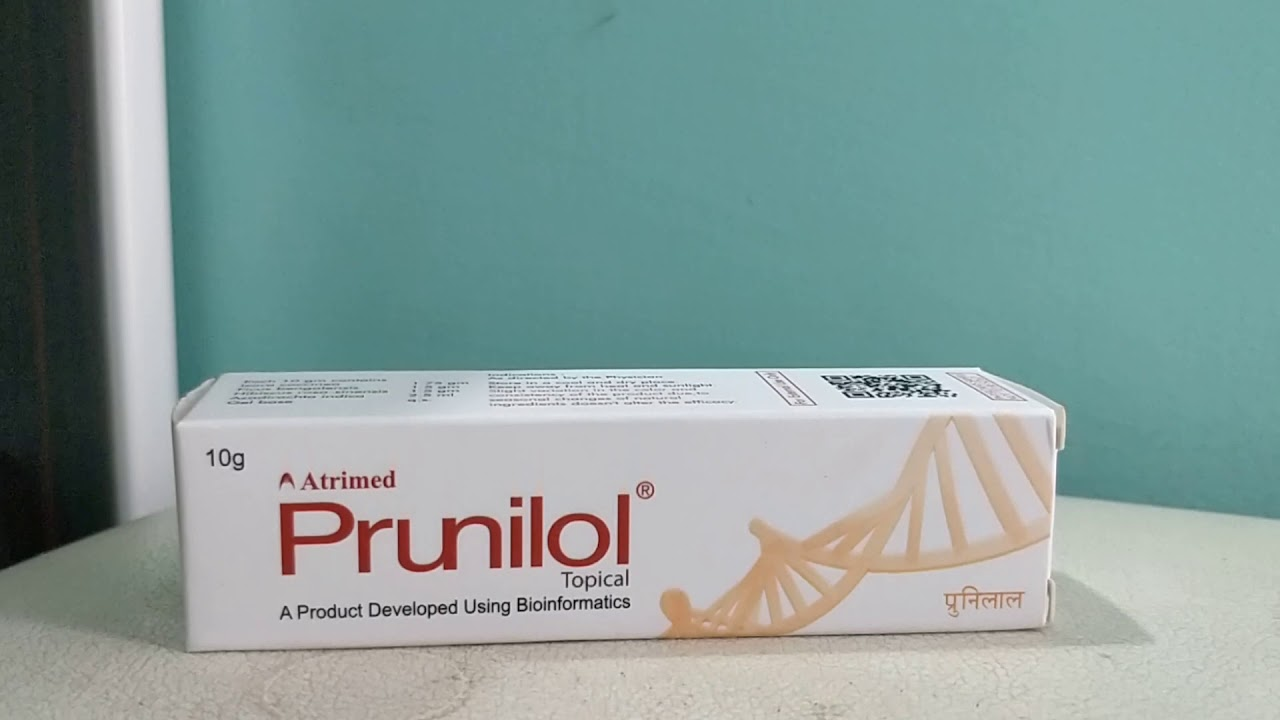 English Prunilol topical cream eczema skin problems herbal medicine review #Herbalmedicine