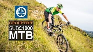 Best MTBs Under £1000