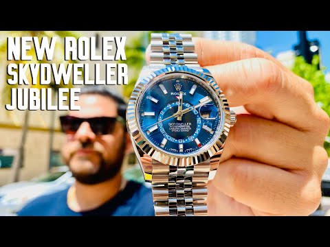 New Rolex Sky-Dweller Blue Dial Jubilee - Why Would Rolex Do This?!