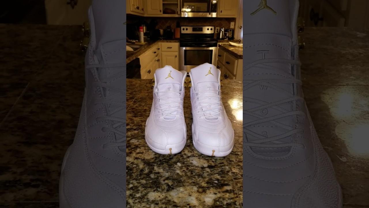 1d8568f1057 Dhgate Jordan Retro 12 OVO White (Replica) - YouTube