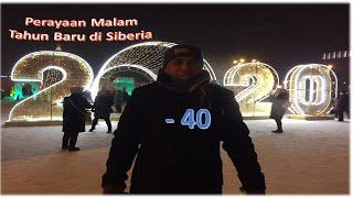 Perayaan tahun baru 2020 di Russia - Siberia #Suaradarisiberia#