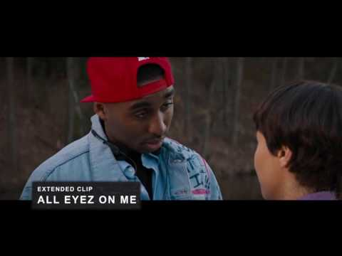 New All Eyez On Me Movie Extended Clip Tupac and Jada poem scene