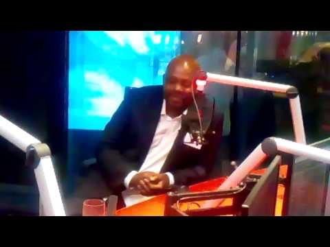 Greg Maloka on new Kaya Fm satellite radio studio