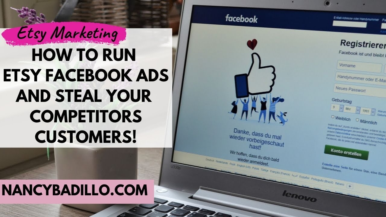 Etsy Facebook Ads | New Etsy Ads Alternative | Nancy Badillo