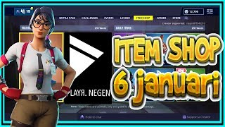 | FORTNITE NL/BE | ITEM SHOP 6 January 2019 | * New * MAVEN SKIN-English spoken
