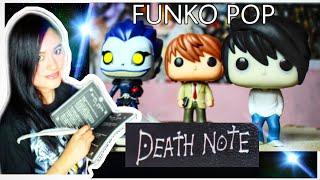 FUNKO POP DE LA DEATH NOTE EN ESPAÑOL  RYUK, LIGH, L