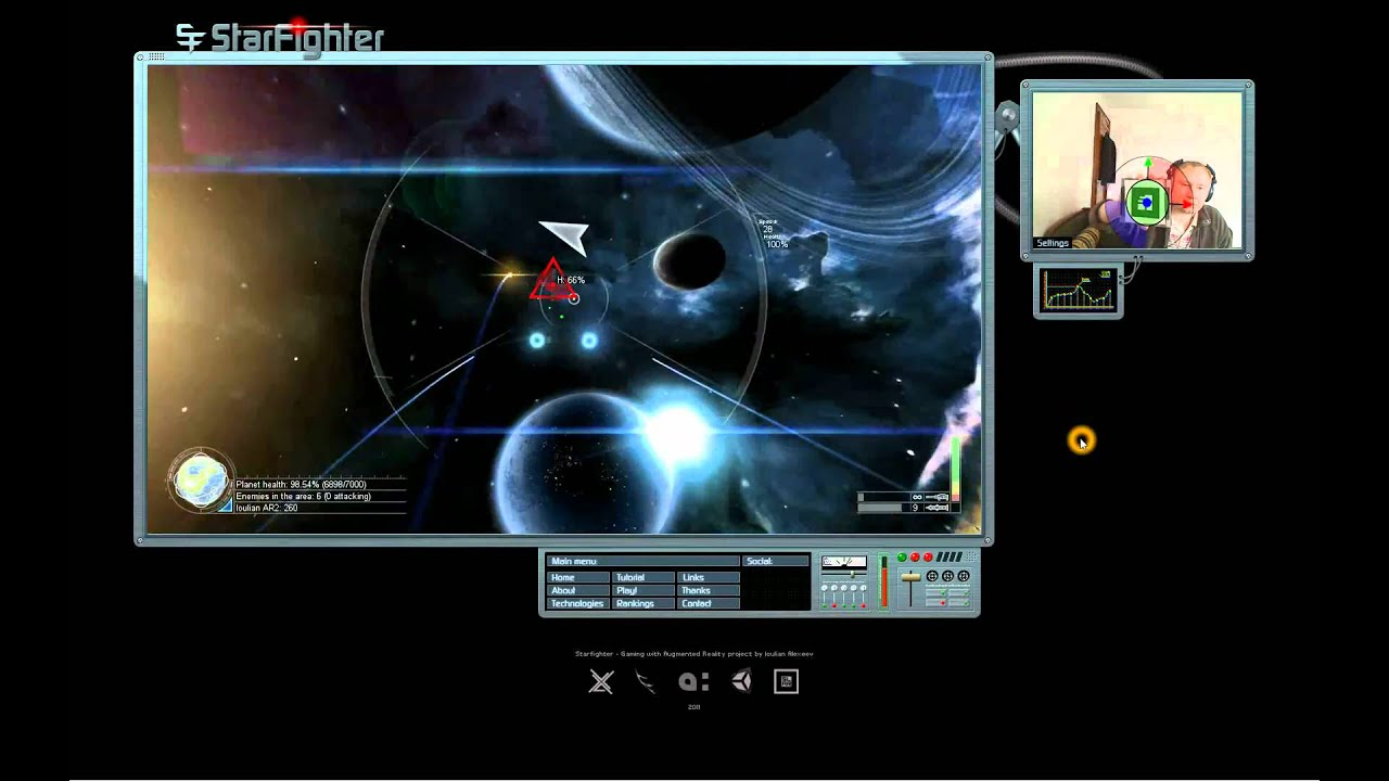 2d Space Games