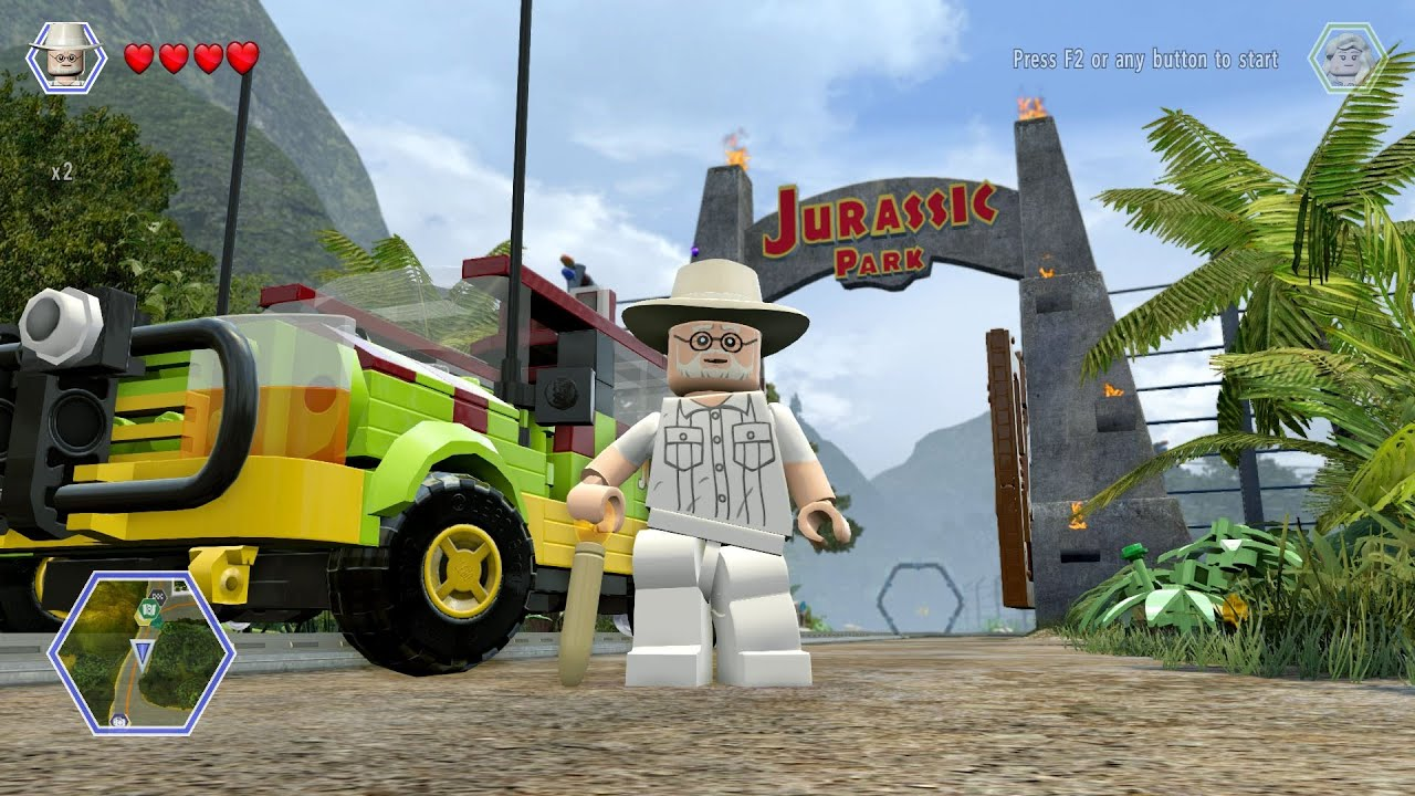 LEGO Jurassic World - John Hammond - Jurassic Tour Vehicle ...