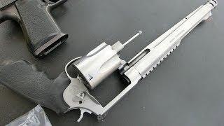 実銃「S&W M500マグナム」.500S&W弾リボルバーを体験。パフォーマンスセ...