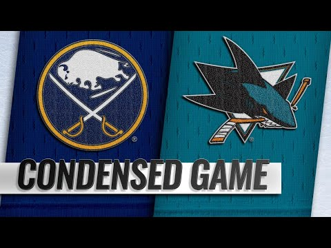 10/18/18 Condensed Game: Sabres @ Sharks