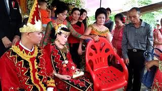 Acara pernikahan anak Bp. A eri laia salam perpisahan dan akhir acara Medan padang adat Nias