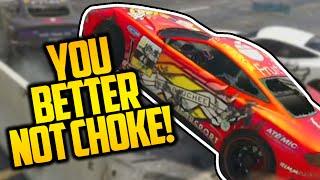 YOU BETTER NOT CHOKE! (GTA 5 Online Races)