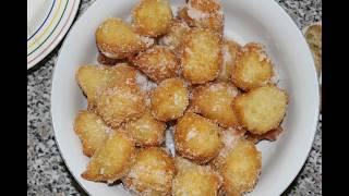Crispelle siciliane.  Пончики с Сицилии.