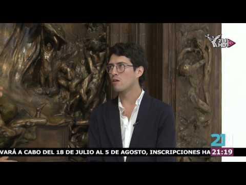 "Entrevista Iván Herróz - ""La puerta del Infierno de Auguste Rodin""  Héctor Archundia"