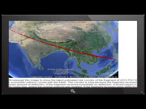 WARNING !!ASTEROID 2015 PDC! !IMPACT THE EARTH 2022