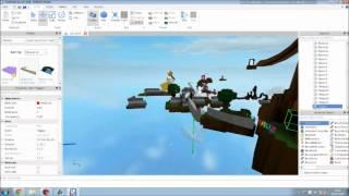 Roblox Surf - Map Making - Ep1 - Basics