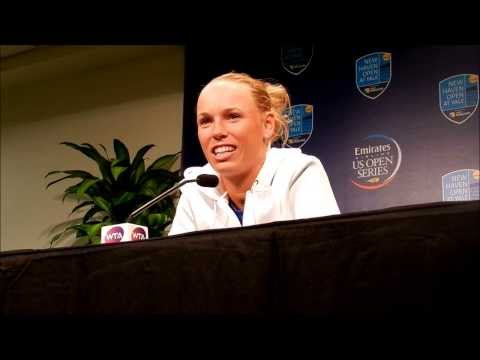 It Always Comes Back To Rory: Caroline Wozniacki at New Haven Open