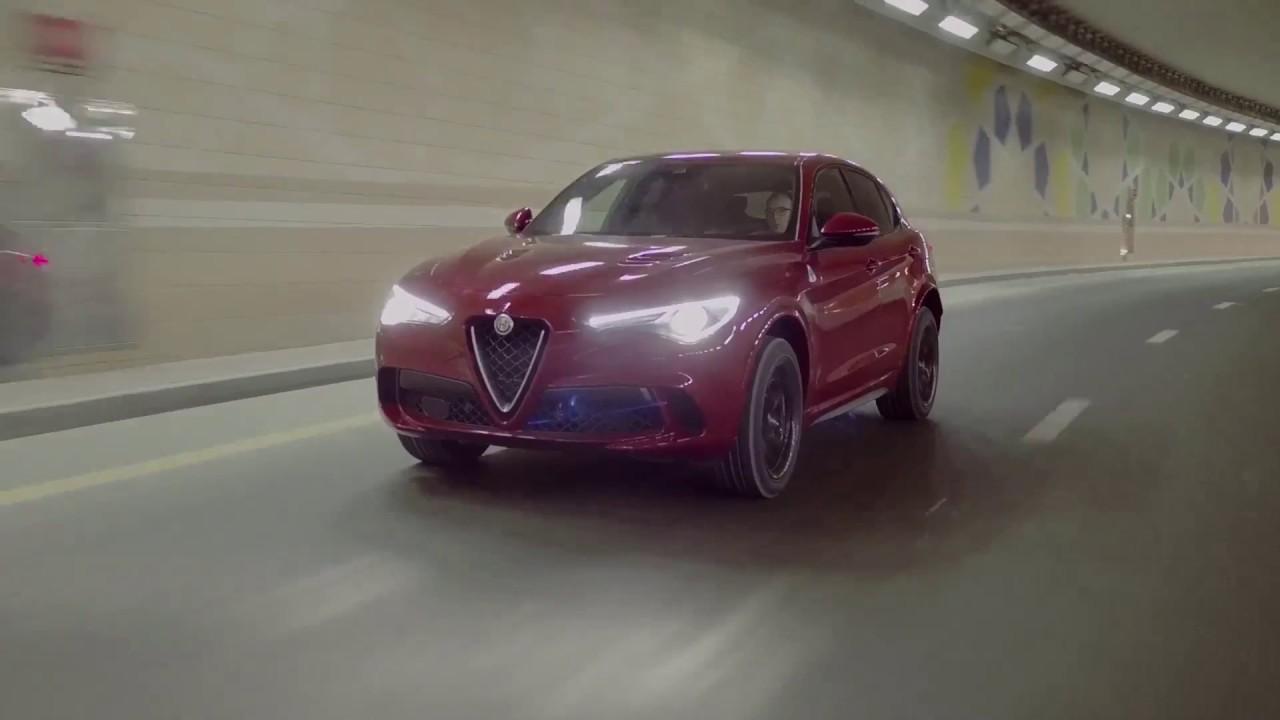 Alfa Romeo Stelvio Quadrifoglio Clip Dubai Youtube