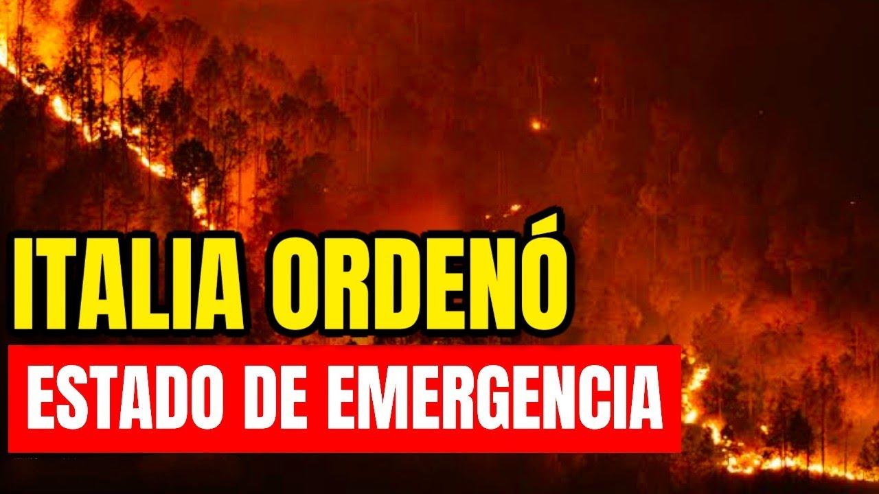 ¡Se Activó La Alerta! Italia Ordenó Estado De Emergencia, Esto Acaba De Pasar Urgente