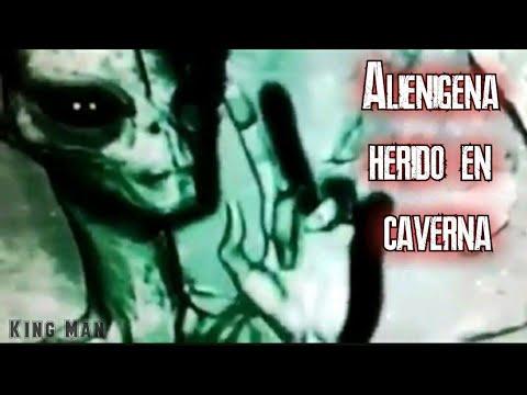 Alienigena hallado herido en caverna de Peru
