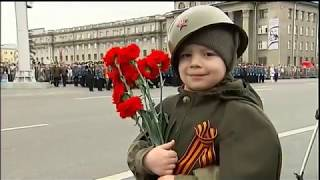 2012 9 мая Парад Победы 67 годовщ, Москва 9 мая 2012 год 1канал