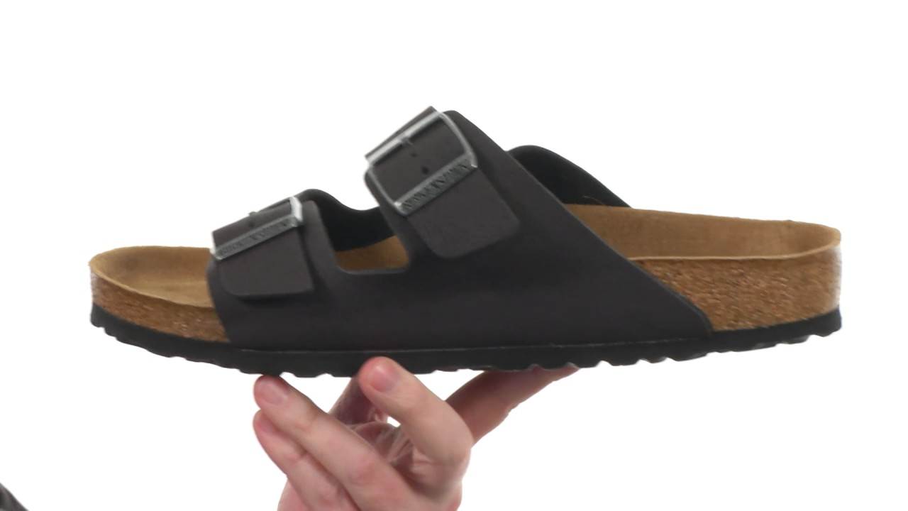 59e5c8d4e0a Birkenstock Arizona Vegan SKU 8902615 - YouTube