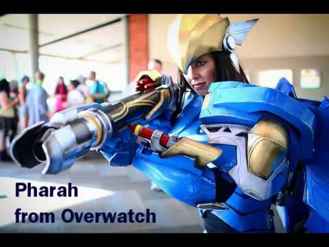 Pharah from Overwatch Cosplay - Automated Wings! and construction photos