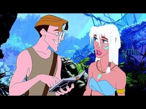 Atlantis: The Lost Empire Memorable Moments Disney Animation Movies for Children & Cartoon Movies