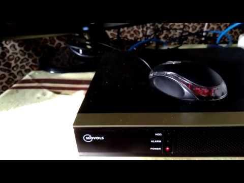Самостоятельная установка и тестирование камер видеонаблюдения.