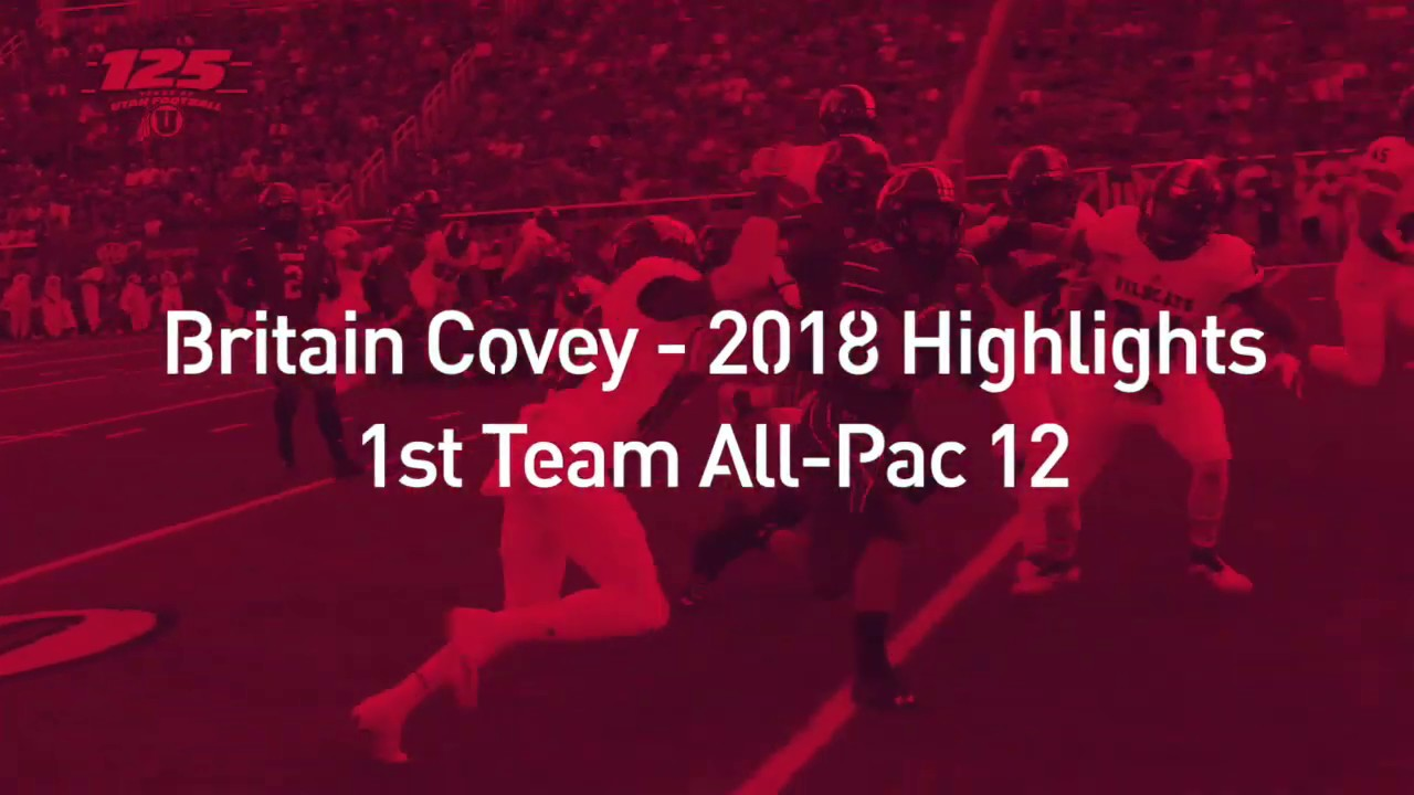 Britain Covey 2018 Regular Season Highlights - University of Utah