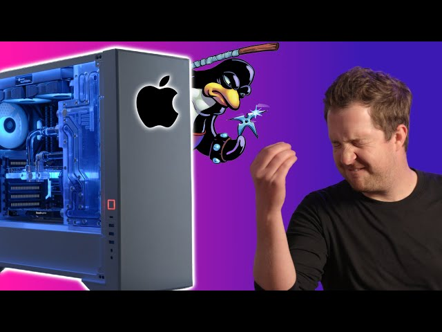 This Linux PC Runs macOS Faster Than a Real Mac