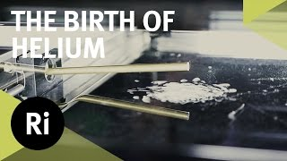 Cloud Chamber: The Birth of Helium Atoms