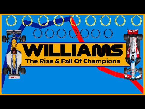 A Williams Formula 1 Documentary: How F1 Champions Became Backmarkers