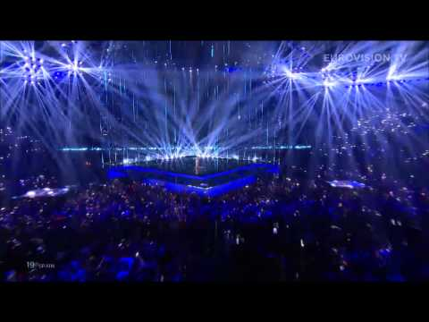 Ruth Lorenzo - Dancing in the rain (Spain) LIVE Eurovision Song Contest 2014 Grand Final