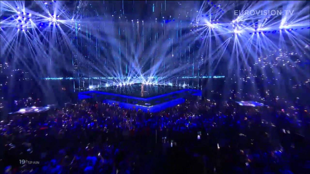 Eurovision Live: Dancing In The Rain (Spain) LIVE Eurovision