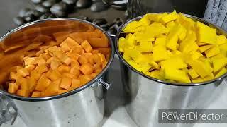 Тыквенно-морковный сок на зиму из соковыжималки.