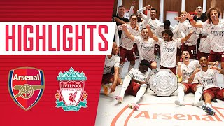 HIGHLIGHTS | Community Shield winners! | Arsenal vs Liverpool (1-1, 5-4 on pens) | August 29, 2020