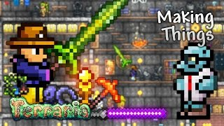 Terraria Let's Play - Making Things [24]