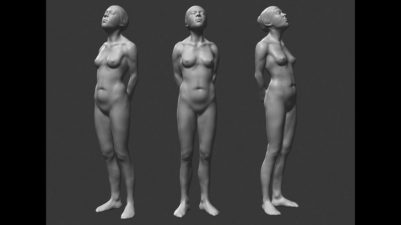 Zbrush Sculpting Female Anatomy Study Youtube