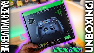 Razer Wolverine Ultimate Unboxing! Is it the BEST Xbox Pro Controller?