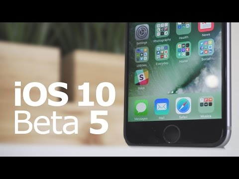iOS 10 Beta 5: The 5 Biggest Changes!