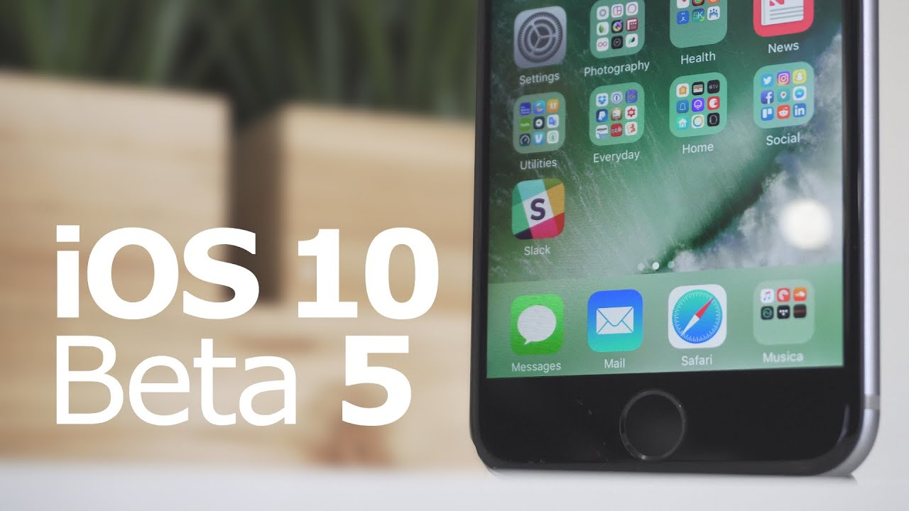 iOS 10 Beta 5 The 5 Biggest Changes!