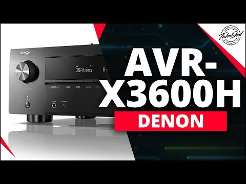 New Denon AVR-X3600H 9-Channel IMAX Enhanced A/V Receiver for $1,100!!