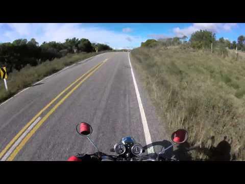 GoPro - Rutas 60 y 12 de Uruguay - Muy buenos paisajes entre las sierras.