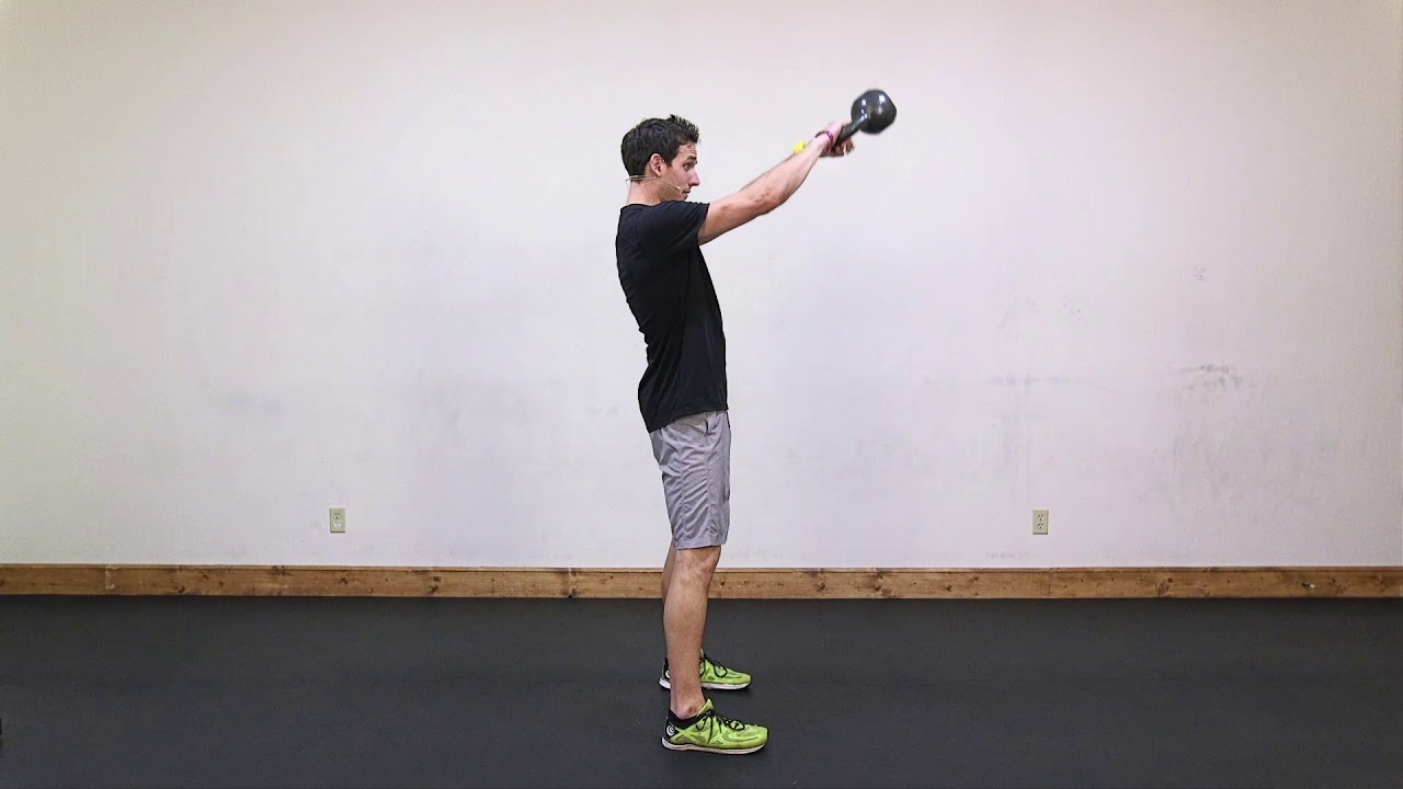 Lean: Kettlebell Swings, Squats, & Pushups