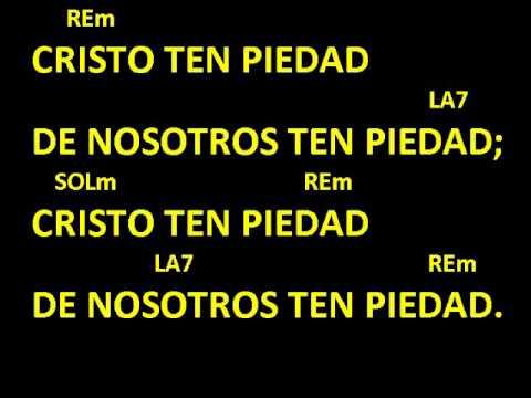 CANTOS PARA MISA - SEÑOR TEN PIEDAD 11 - LETRA Y ACORDES - CATÓLICO