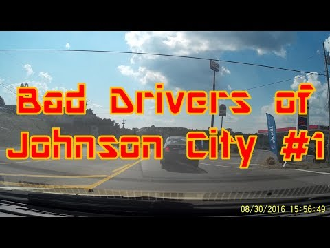 Bad Drivers of Johnson City, Tennessee #1